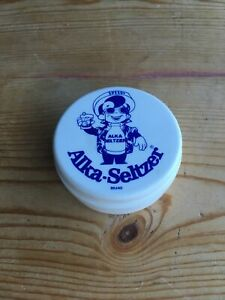 A Vintage SPEEDY Alka-Seltzer Collapsible Travel Cup with Lid