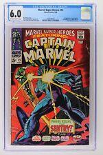 Marvel Super-Heroes #13 - Marvel 1968 CGC 6.0 1st Appearance of Carol Danvers!
