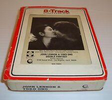 John Lennon Yoko Ono Double Fantasy 8 Track Tape