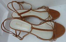 RUSSELL & BROMLEY - Heeled Sandals - £135 - Tan Leather - UK size 4 - REDUCED