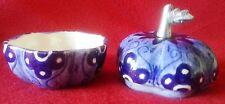 Vintage Imported Big Apple Ceramic Trinket Box.