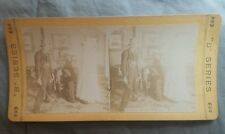 """Antique Stereoview Card """"B"""" SERIES """"What is Home Without A Mother In Law"""""""