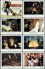 FRANKENSTEIN Great Complete Set Of 8 Individual 8x10 LC Prints 1931 KARLOFF