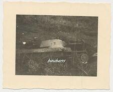 Foto Russland-Feldzug-russischer Panzer/Tank  2.WK (g999)