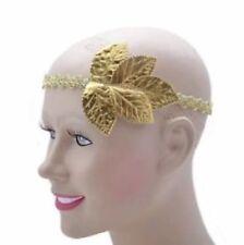 ROMAN/GREEK  ANCIENT GOLD LEAF GODDESS  TOGA  LAUREL HEADBAND FANCY DRESS