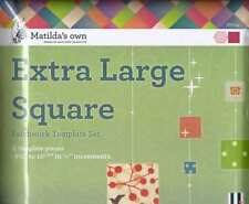 Matilda's Own Extra Large Squares Patchwork Template Set