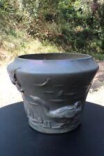 Important Cache-Pot Grès par R. Jeandelle RAMBERVILLERS