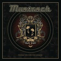 MUSTASCH - THANK YOU FOR THE DEMON  CD  9 TRACKS HEAVY METAL/HARD ROCK  NEU