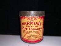 VINTAGE HARMONY PIPE TOBACCO TIN (LIGGETT & MYERS TOBACCO CO.)