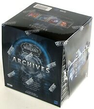 World of Warcraft WOW TCG Archives Booster Box SEALED Loot Cards