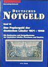 Deutsches Notgeld Band 10 Deutsche Länder Germany states noodgeld Allemagne