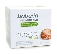 BABARIA ANTI-AGEING NOURISHING GEL FACE CREAM WITH SNAIL EXTRACT - 50 ml