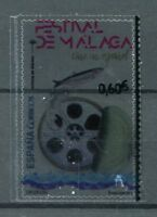 Spain 2017 MNH Malaga Film Festival Spanish Cinema 1v Set Transparent Stamps