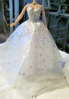 Holiday Celebration Special Edition Barbie Replacement Gown, Necklace & Earrings