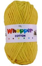 Cygnet Whopper Cotton Super Chunky Knitting Yarn 100g - 8 Shades Available Azure 623