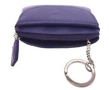 Purple Ladies Small Coin Key and Credit Card Purse Primehide 761