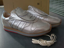 ADIDAS HENDER SCHEME MICROPACER silver LUXURY SHOES, leather, handmade in Japan