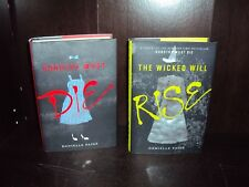 Lot 2 Danielle Paige~Dorothy Must Die + The Wicked Will Rise Hardcover 1st/1st
