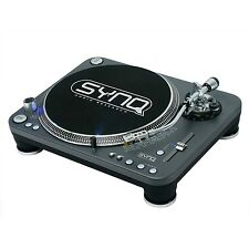 Synq DJ Plattenspieler X-TRM1 / Profi DJ Turntable (Dunkelgrau) NEU+OVP!