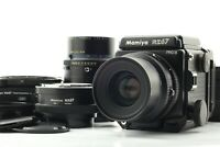 【NEAR MINT+++】 Mamiya RZ67 Pro II + Sekor Z 90mm F3.5 W + 180mm F4.5 From JAPAN