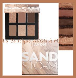 SAND STORM Palette ombres à paupières 6 en 1 AVON : Pour un LOOK GLAMOUR !!