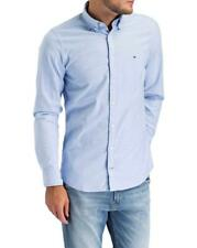 TOMMY HILFIGER Oxford-Hemd Slim Fit Hellblau