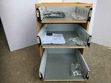 16mm KITCHEN DRAWERS TO FIT 300mm CABINET PACK OF 3  SOFT CLOSE (8152) x THREE