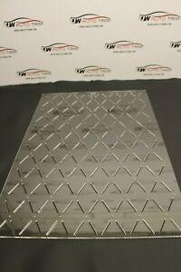 Car Upholstery / Trimming - stitch 50x92 diamond pattern template 3mm acrylic.