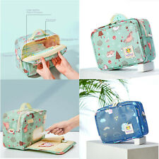 Diaper Nappy Bag Colorful Wet Bags Waterproof Washable Cloth Organizer Backpack