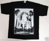 CALIFORNIA REPUBLIC T-shirt Cali Palm Tree Tee Men  Large or XL Black New