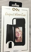 New Case-Mate Compact Mirror Case for the iPhone X - Black