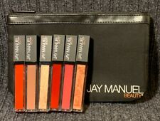 Jay Manuel Beauty The Ultimate Lip Gloss Lot Of 6 New