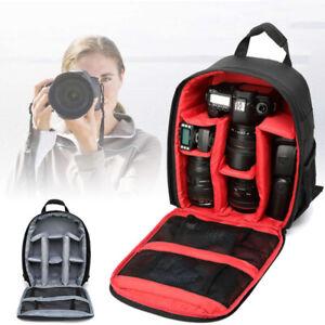 Kameratasche Camera Backpack Fototasche SLR DSLR Rucksack Für Canon Nikon Tasche