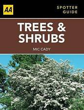 Spotter Guide Trees & Shrubs (AA Spotter Guides), Good Condition Book, AA Publis