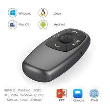 Wireless Presenter RF 2.4GHz Powerpoint Presentation Laser Remote Control Pen