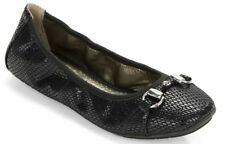 Me Too Animal Print Leather Ballet Flats for Women