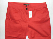 346 Brooks Brothers Natalie Fit - Ladies Red Chinos Trousers Pants - W29 L32