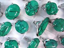 20pc wholesale retro  fashion ring turquoise ring jewelry lot