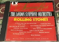 London Symphony Orchestra Play Music of Rolling Stones Symphonic Rock cd CLEAN
