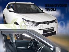 SSANGYONG TIVOLI 5-portes 2015-présent Deflecteurs de vent 2-pièces HEKO Bulles