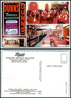 CANADA Postcard - Montreal, Dunn's Famous Restaurant AT