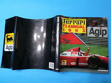 FERRARI F1 ANNUAL 1993 Automobilia Ediz. Italiano Inglese Francese Bruno Alfieri