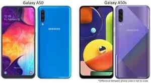 Samsung Galaxy A50 / A50s | 64GB / 128GB AT&T Verizon OR GSM Unlocked Smartphone