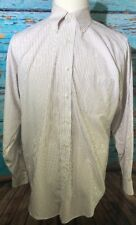 Brooks Brothers 15.5-34 Long Sleeve Button Down Red White Striped