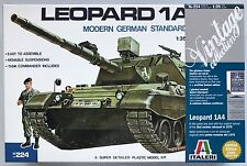 Italeri 224 Leopard 1A4 German Tank 1/35 Model Kit NIB