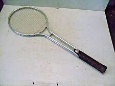 Old Vintage W Model 1985 Aluminum Tennis Racquet Racket
