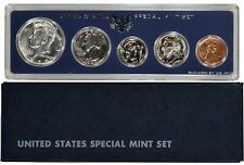 1966 US UNCIRCULATED SPECIAL MINT SET with 40 % SILVER KENNEDY HALF