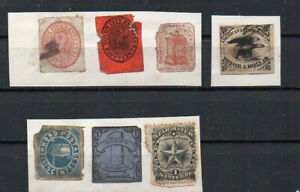Z46: LOT DE TIMBRES USA COMPAGNIES PARTICULIERES.LOT OF STAMPS USA