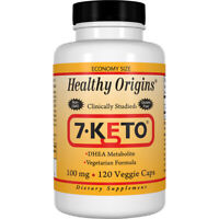 Healthy Origins 7-Keto 100 mg 120 Veggie Caps