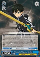 Weiss Schwarz Attack in Waves, Kirito - SAO/S47-E112 - RR En SAO Re:Edit x1 Near